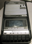 Panasonic Slim Line Tape Voice Recorder RQ-2102