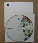 Apple iWork '06 Install DVD 1Z691-5842-A + License Key