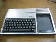 Vintage Texas Instruments TI-99/4A Computer Silver