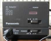Panasonic Video Camera Charger Model AG-B11 12 Volt