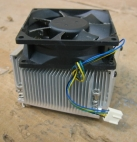 Aluminum Heatsink w/ Fan 3.625