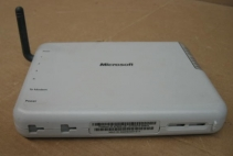 Microsoft Wireless Base Station MN-500  4-Port Switch