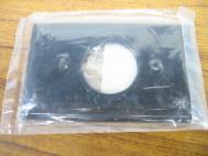 Hubbell P7B Nylon Wall Plate Black