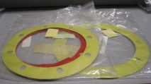 Plastic Shim Tencarva #4695732350 Pump 2VJ614 Lot Of 2