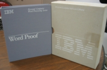 IBM Personal Computer Software Library V. Word Proof