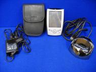 Lot Dell Axim X5 Windows Pocket PC, Case, AC Adapter, Charging Station