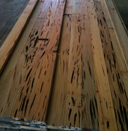 Pecky Sinker Cypress Smooth Planed 1x8