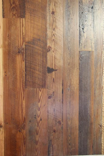 Old Face Reclaimed Longleaf Pine T&G Flooring 1x8
