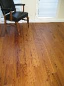 "Prefinished Engineered Reclaimed Pine Flooring, 5.5"" coverage"