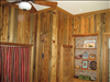 Pecky Sinker Cypress bedroom wall paneling