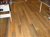 Select Sinker Cypress flooring for employee gathering room of HomeAway.com