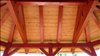 Common Cypress T&G V-Joint 2x8 merges function, strength, and beauty as roof decking.
