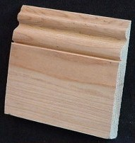 Select Cypress Orleans Baseboard 1x6