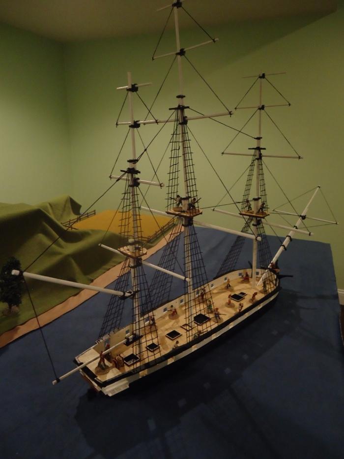 Laser Dream Works model kit USS WASP