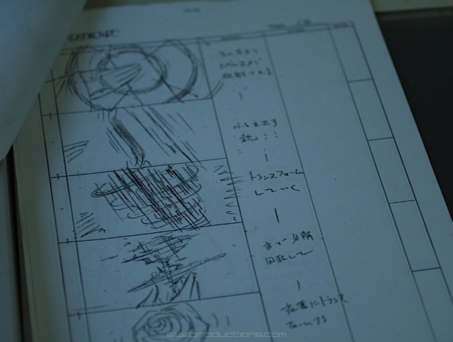 project : 13 - The Sound Of Hope - storyboards