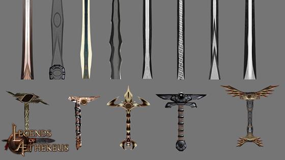 Concept Art 5 - Sword