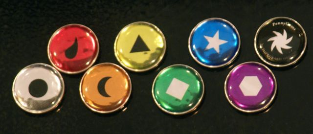 Primary Set PennyGems, icon-side-up
