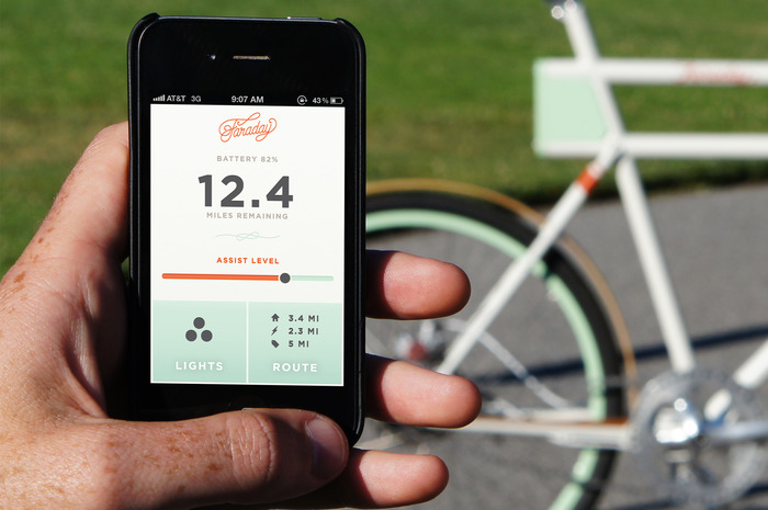 If Faraday Bikes raises $300,000, we will include Bluetooth on the bike and create a custom mobile app with features voted on by everyone who pledged!