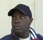 "Antwone Fisher, chosen writer of the forward for ""Real Men Don't Play"""