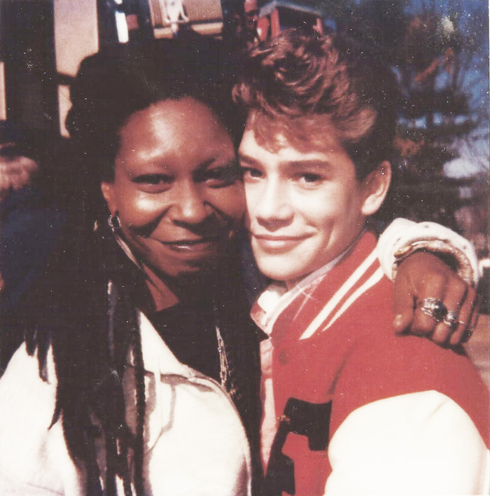 Jason with Whoopi in 'Clara's Heart'