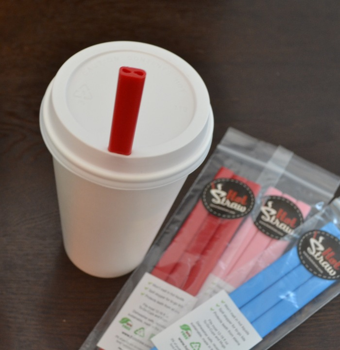 Hot Straws work great in to-go cups!