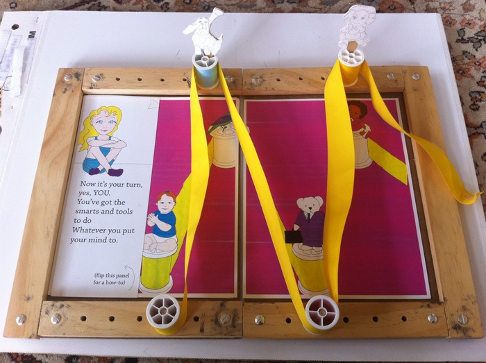 Original GoldieBlox prototype
