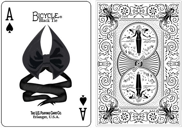 Wedding Favor Idea, Playing Card Deck with a Black Tie Event Theme ...