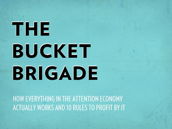 The Bucket Brigade: A Collaborative Publishing Project