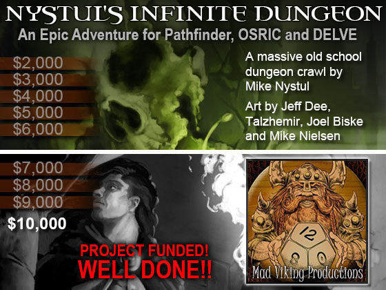 Nystrul's Infinite Dungeon