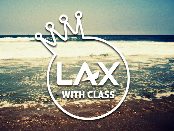 Lax With Class Logo