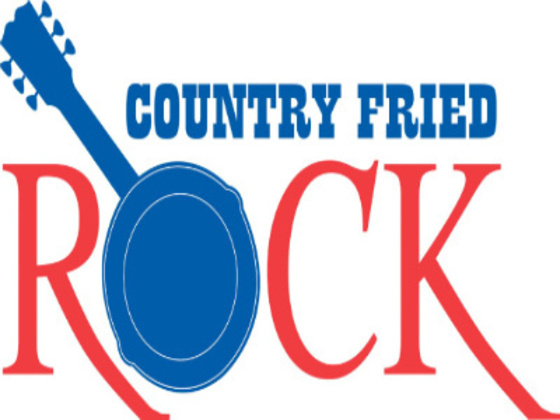 country fried rock logo