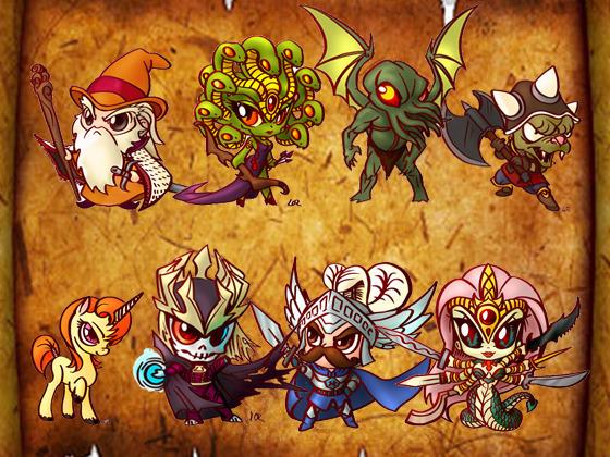 Minis de la serie de TV de Dragones y Mazmorras Photo-full