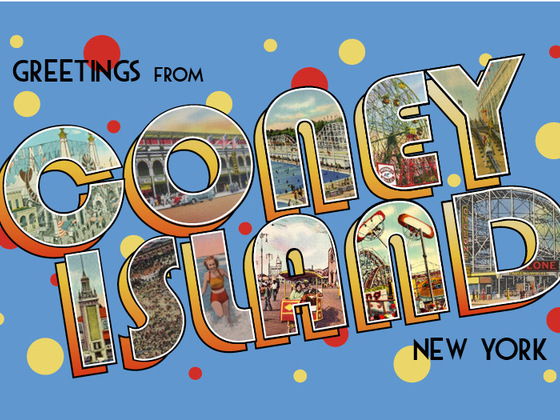 """Greetings from Coney Island"""