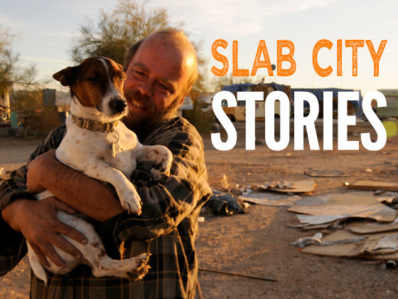 SLAB CITY, Here We Come: Living Life Off the Grid in California's Badlands
