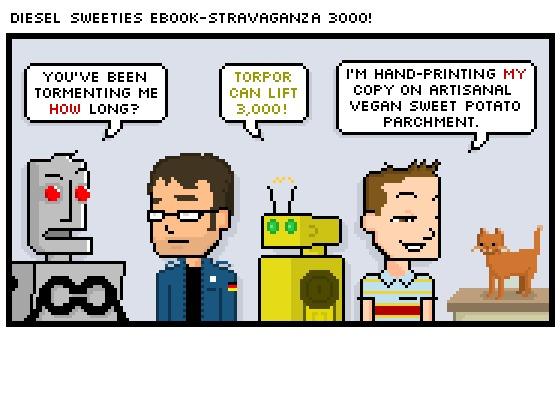 Diesel Sweeties and Kickstarter    Another Established Webcomic Getting Big Bucks on Kickstarter