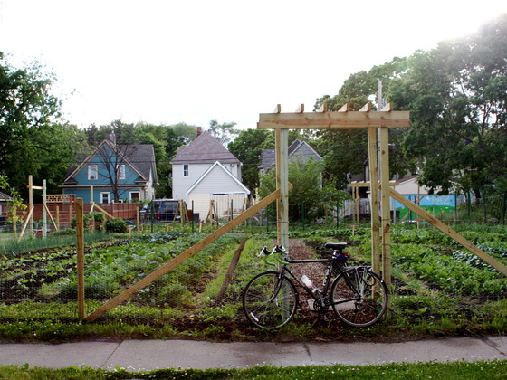 Stones Throw Urban Farm, Minneapolis