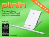 Plinth - the World's best stand for your Tablet / iPad