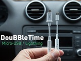 DouBBleTime charging cable-Full Battery in 1/2 the Time