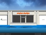 Instant shopfront flood walls