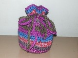 Crocheted Dice Bags