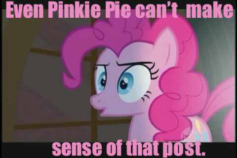 Pony Thread Con-Pinkie-fusion