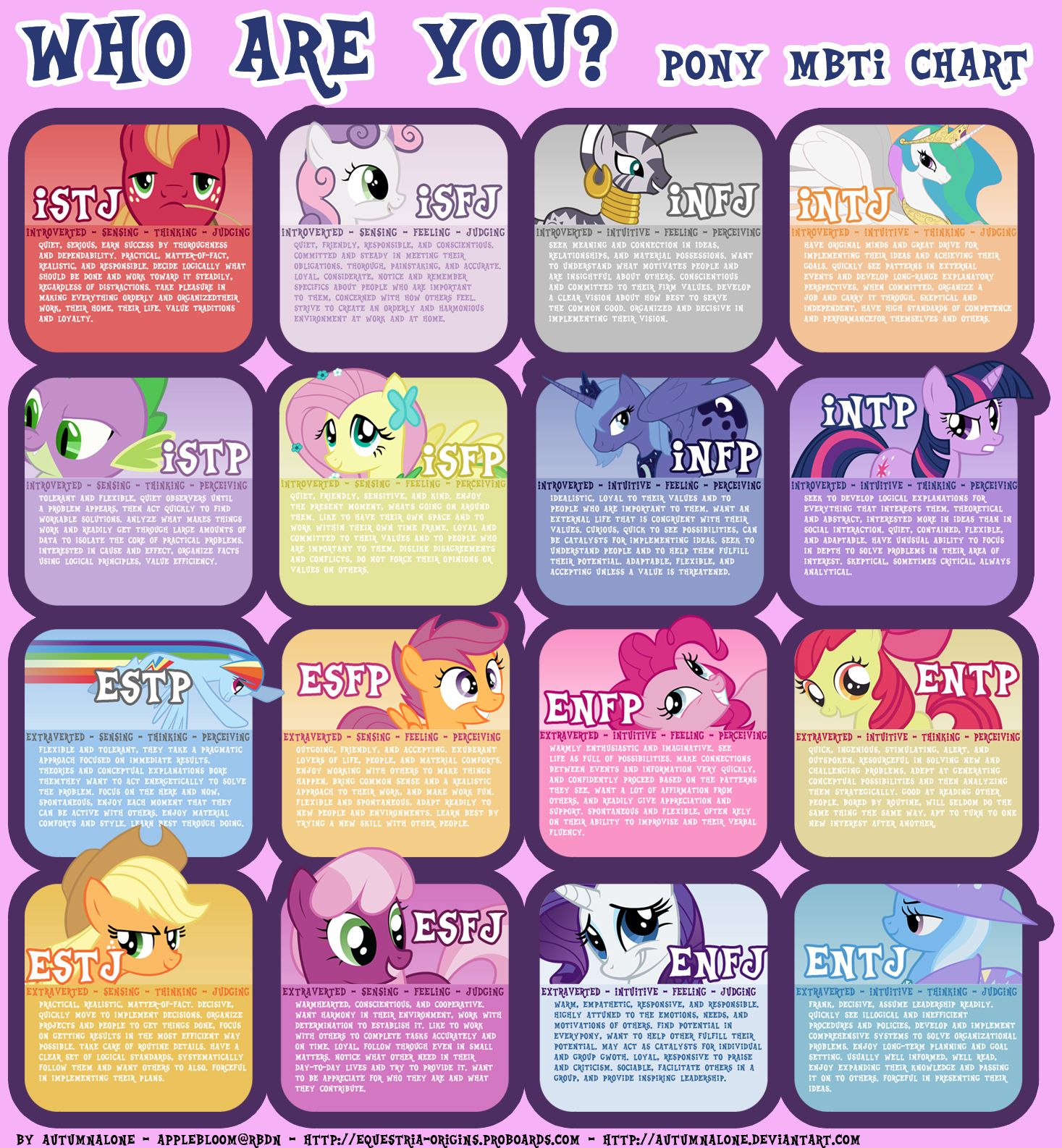 Hasbro themselves have a My Little Pony Personality Quiz available