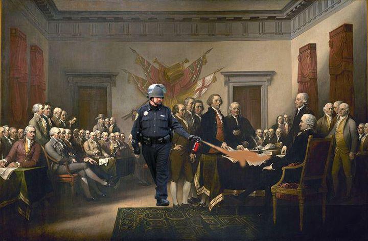 Lt Pike UC Davis Fascist Cop Pepper Spray