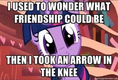 I wasn't going to make this thread... Till I took an arrow to the knee MemePic