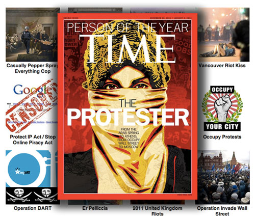 Time-protester
