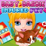 Baby Barbie Injured Pet