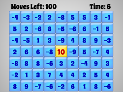 Absolute Zero | Integers (Negative & Positive) | Free Math Game for Elementary Students