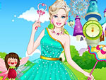 Cute Doll Prom Princess Dress Up
