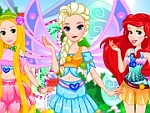 Disney Princess Winx Club Dress Up