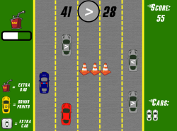 Road Racer | Comparing Numbers | Free Math Game for Elementary Students